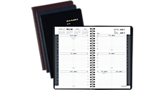 Weekly Appointment Book with Tabbed Telephone-Address Section (70100) (Item # 70100)