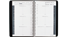 2016 Weekly Appointment Book with Tabbed Telephone-Address Section (70100_16) (Item # 70100_16)