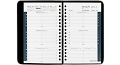 2016 Weekly Appointment Book with Tabbed Telephone-Address Section (70102_16) (Item # 70102_16)