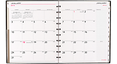 2016 Monthly Planner with Poly Cover - Large (70260E_16) (Item # 70260E_16)