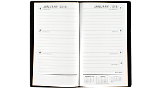 2016 Faux Croc Weekly Pocket Planner - Small (70402_16) (Item # 70402_16)