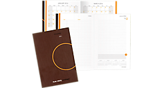 2016 One Day Per Page Planning Notebook - Medium (706201_16) (Item # 706201_16)