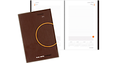PLAN. WRITE. REMEMBER. One Day Per Page Planning Notebook (706201) (Item # 706201)