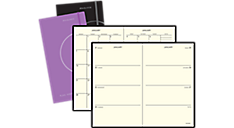 2017 Plan.Write.Rmember.® Perfect Bound Weekly/Monthly Planner (706D10_17) (Item # 706D10_17)