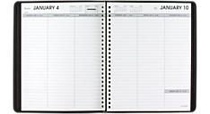 2016 Weekly Open Scheduling Planner - Medium (70855_16) (Item # 70855_16)