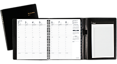 2017 Weekly Appointment Book with Full Weekend Plus Notepad (70865P_17) (Item # 70865P_17)