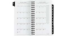2016 Executive® Weekly-Monthly Planner Refill for 70-NL02, 70-020 and 70-NF02 (70907_16) (Item # 70907_16)