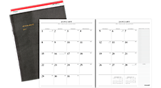 2017 Monthly Planner Refill for 70-290 (70909_17) (Item # 70909_17)