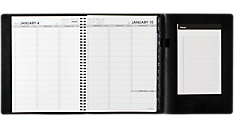 2016 Weekly Appointment Book Plus Notepad - Large (70950P_16) (Item # 70950P_16)