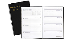 2016 Fine Diary Weekly-Monthly Pocket Diary (7201_16) (Item # 7201_16)
