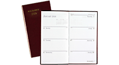 2016 Fine Diary Weekly-Monthly Pocket Diary (7202_16) (Item # 7202_16)