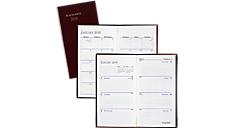 Fine Diary Weekly-Monthly Pocket Diary (7202) (Item # 7202)