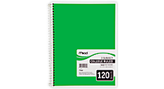 Spiral® Notebook 3 Subject (05748) (Item # 05748)
