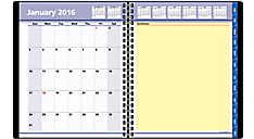 2016 QuickNotes® Weekly-Monthly Appointment Book (7601_16) (Item # 7601_16)