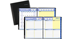 QuickNotes Weekly-Monthly Appointment Book - Large (7605) (Item # 7605)