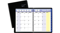 2017 QuickNotes® Monthly Planner (7606_17) (Item # 7606_17)