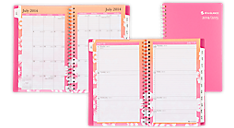 2015-2016 Sunset Academic Weekly/Monthly Appointment Book (800-200A_A5) (Item # 800-200A_A5)