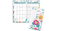 2016 - 2018 Evelina Academic 2 Year Pocket Planner (801-021A_A6) (Item # 801-021A_A6)