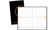 Two Days Per Page Perfect Bound Planning Notebook (806121) (Item # 806121)
