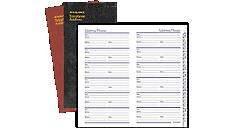 Fine Diary Telephone-Address Book (8202) (Item # 8202)