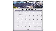 Landscape Monthly Wall Calendar (88200) (Item # 88200)