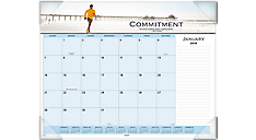 Motivational Panoramic Monthly Desk Pad (89801) (Item # 89801)