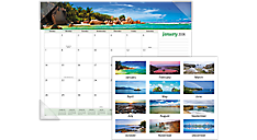 Seascape Panoramic Monthly Desk Pad (89803) (Item # 89803)