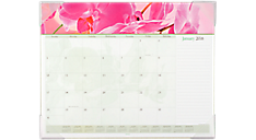 2016 Recycled Floral Panoramic Monthly Desk Pad (89805_16) (Item # 89805_16)