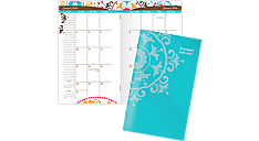 2016 - 2018 Suzani 2 Year Pocket Planner (917-021_16) (Item # 917-021_16)