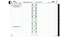2016 2-Page-Per-Day Original Planner Refill Desk Size  (92010_16) (Item # 92010_16)