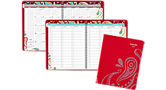 2017 Playful Paisley Premium Weekly-Monthly Appointment Book (952P-905_17) (Item # 952P-905_17)