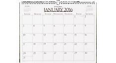 2016 Business Monthly Wall Board Calendar (997-1_16) (Item # 997-1_16)