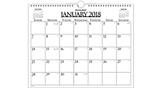Business Monthly Wall Board Calendar (997-1) (Item # 997-1)