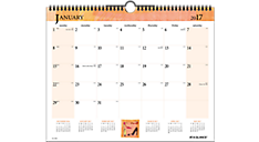 Inspired! Monthly Wall Board Calendar (998-3) (Item # 998-3)