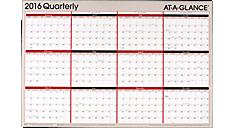 2016 2-Sided Erasable Wall Calendar (A123_16) (Item # A123_16)