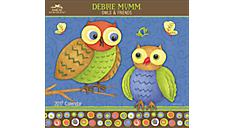 2017 Debbie Mumm Owls & Friends Wall Calendar (AMWC25_17) (Item # AMWC25_17)