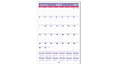 Academic Monthly Wall Calendar (AY3) (Item # AY3)