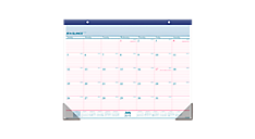 2015-2016 Two-Color Academic Monthly Desk Pad (AYST24_16) (Item # AYST24_16)