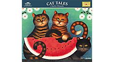 2017 Charles Wysocki - Cat Tales Wall Calendar (CWCW05_17) (Item # CWCW05_17)