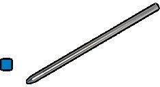 Soft Roll Mini Ballpoint Refill for Multi Functional Pens (D132) (Item # D132)