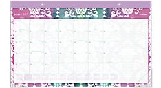 2017 Taryn Compact Monthly Desk Pad (D142-705_17) (Item # D142-705_17)