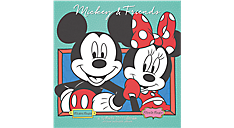 2017 Disney Mickey Mouse Wall Calendar (DDD848_17) (Item # DDD848_17)