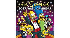 2017 The Simpsons Wall Calendar (DDD986_17) (Item # DDD986_17)