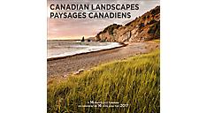 2017 Canadian Landscapes Bilingual (English-French) Wall Calendar (DDF707_17) (Item # DDF707_17)