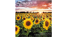 2017 The 7 Habits of Highly Effective People Bilingual Wall Calendar (English-French) (DDF881_17)  (Item # DDF881_17)