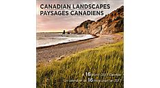 2017 Canadian Landscapes Bilingual (English-French) Mini Calendar (DDMF70_17) (Item # DDMF70_17)