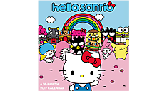 2017 Hello Kitty Mini Wall Calendar (DDMN37_17) (Item # DDMN37_17)