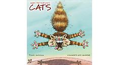 2017 Gary Patterson's Cats Mini Wall Calendar (DDMN43_17) (Item # DDMN43_17)