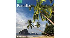 2017 Paradise Mini Wall Calendar (DDMN45_17) (Item # DDMN45_17)