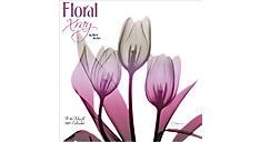 2017 Floral Xray Mini Wall Calendar (DDMN78_17) (Item # DDMN78_17)